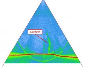 water column - gas plume