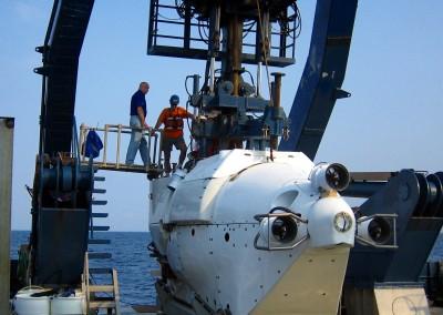 Dr. Bernard - NOAA's Alvin